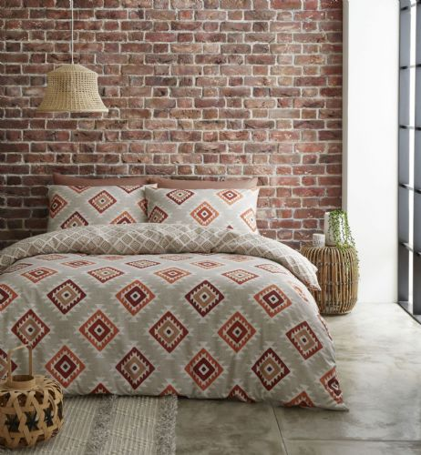 Catherine Lansfield Aztec Spice Bedding Set
